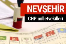 CHP Nevşehir Milletvekilleri 2018 - 27. dönem Nevşehir listesi