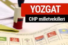 CHP Yozgat Milletvekilleri 2018 - 27. dönem Yozgat listesi