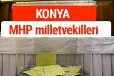 MHP Konya Milletvekilleri 2018 -27. Dönem listesi