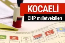 CHP Kocaeli Milletvekilleri 2018 - 27. dönem Kocaeli listesi