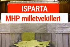 MHP Isparta Milletvekilleri 2018 -27. Dönem listesi