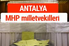 MHP Antalya Milletvekilleri 2018 -27. Dönem listesi