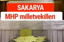 MHP Sakarya Milletvekilleri 2018 -27. Dönem listesi