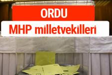 MHP Ordu Milletvekilleri 2018 -27. Dönem listesi