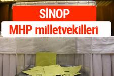 MHP Sinop Milletvekilleri 2018 -27. Dönem listesi