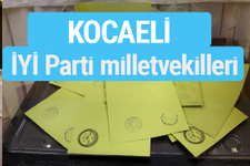 İYİ Parti Kocaeli milletvekilleri listesi iyi parti oy sonucu