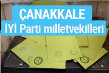 İYİ Parti Çanakkale milletvekilleri listesi iyi parti oy sonucu