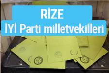 İYİ Parti Rize milletvekilleri listesi iyi parti oy sonucu