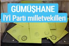 İYİ Parti Gümüşhane milletvekilleri listesi iyi parti oy sonucu