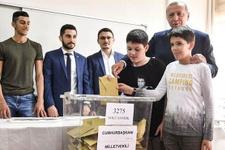 Erdoğan'ın oy kullandığı sandıktan kime en fazla oy çıktı