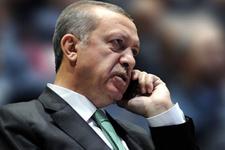 Erdoğan rekor oy aldı telefona sarıldı