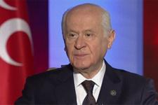 MHP Lideri Bahçeli'den ilk açıklama