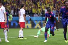 Kolombiya Polonya'yı devirdi