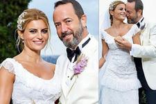 Üç yıllık aşkta mutlu son! Ece Vahapoğlu ile Cihan Alpay evlendi