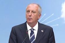 Muharrem İnce'den flaş açıklamalar CHP'ye aday mı sorusuna yanıt