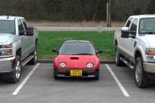 İşte dünyanın en küçük arabası: AZ-1