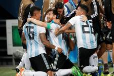 Arjantin Nijerya maçı golleri ve özeti