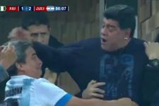 Maradona önce küfretti ardından fenalık geçirdi!