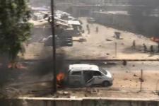 Afrin'de bombalı araçlarla saldırı! Ölü ve yaralılar var