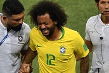 Brezilyalı Marcelo oteldeki yatağı yüzünden sakatlanmış
