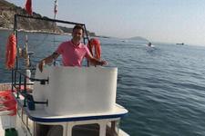 Deniz altında akıl almaz ölüm! Tekne pervanesi...