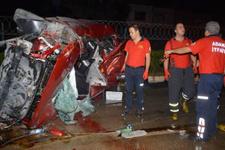 Otomobiliyle taksi ve tankere çarpan 'aday sürücü' öldü
