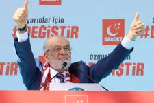 Ali Koç, Saadet Partisi liderine moral ve ümit oldu! Dip dalga...