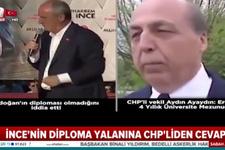 Kılıçdaroğlu ve İnce'ye Erdoğan'ın hocasından diploma yanıtı