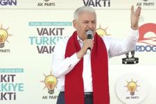 Başbakan Yıldırım: Kimse devlet kurma küstahlığında bulunmasın