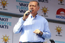 Erdoğan: Birinci çıkamazsan bırakmaya hazır mısın?