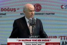 Bahçeli: Erdoğan kazanırsa dolar 10 lira olur diyenler...