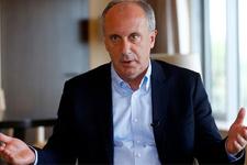 CHP'nin cumhurbaşkanı adayı İnce'den önemli açıklamalar