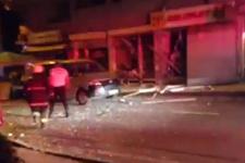 Samsun'da doğalgaz patlaması