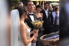 Can Bonomo ve Öykü Karayel evlendi törendeki ilginç detay