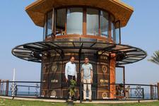 Deniz manzaralı Millet Kıraathanesi Antalya'da açıldı
