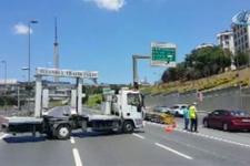 Şehitler köprüsü trafiğe kapatıldı!