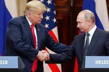 Tarihi zirve: Trump ile Putin bir araya geldi!