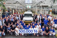 Volkswagen Ticari Araç'tan üretimde büyük başarı!