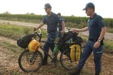 Kırklareli'nde bisikletli turistlere yıldırım çarptı