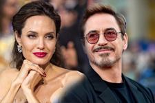 Angelina Jolie Robert Downey Jr ile yasak aşk mı yaşıyor?