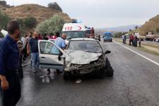 Ankara'da korkunç kaza: 3 ölü 6 yaralı