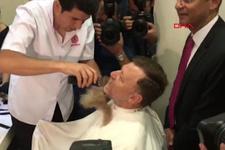 Ohal bitti Aytuğ Atıcı sakalını kestirdi