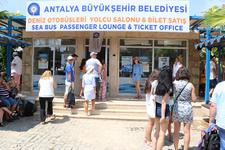 Deniz otobüsleri 120 bin yolcu taşıdı