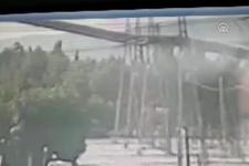2 işçi hayatını kaybetmişti! Termik santralin çökme anı