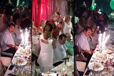 Derya Tuna'yı yalnız bırakmadı! Dikkat çeken doğum günü partisi