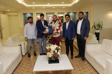Başpehlivan Orhan Okulu'dan Başkan Türel'e ziyaret