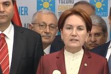 Akşener istifa mı etti? İYİ Parti'den flaş açıklama!