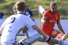 B36 Torshavn-Beşiktaş maçı fotoğrafları