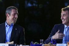 Fikret Orman ile Ali Koç'tan transfer anlaşması