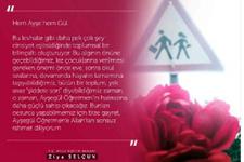 Bakan'dan öldürülen Ayşegül öğretmen için paylaşım